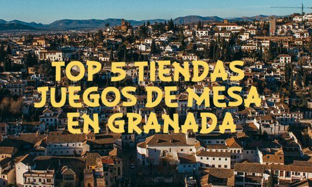 El TOP 5 mejores tiendas de juegos de mesa en Granada