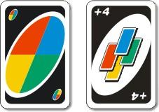 Cartas de acción o comodines de colores