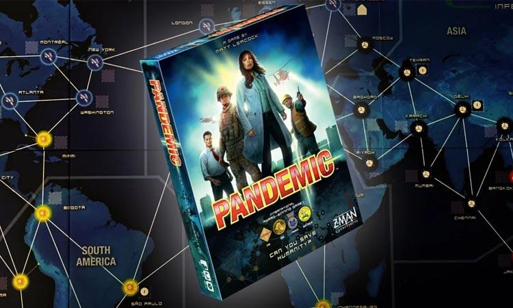 Imgen del juedo fe pandemia para jugar en familia