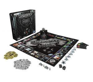 Tablero y piezas Monopoly Juego de Tronos