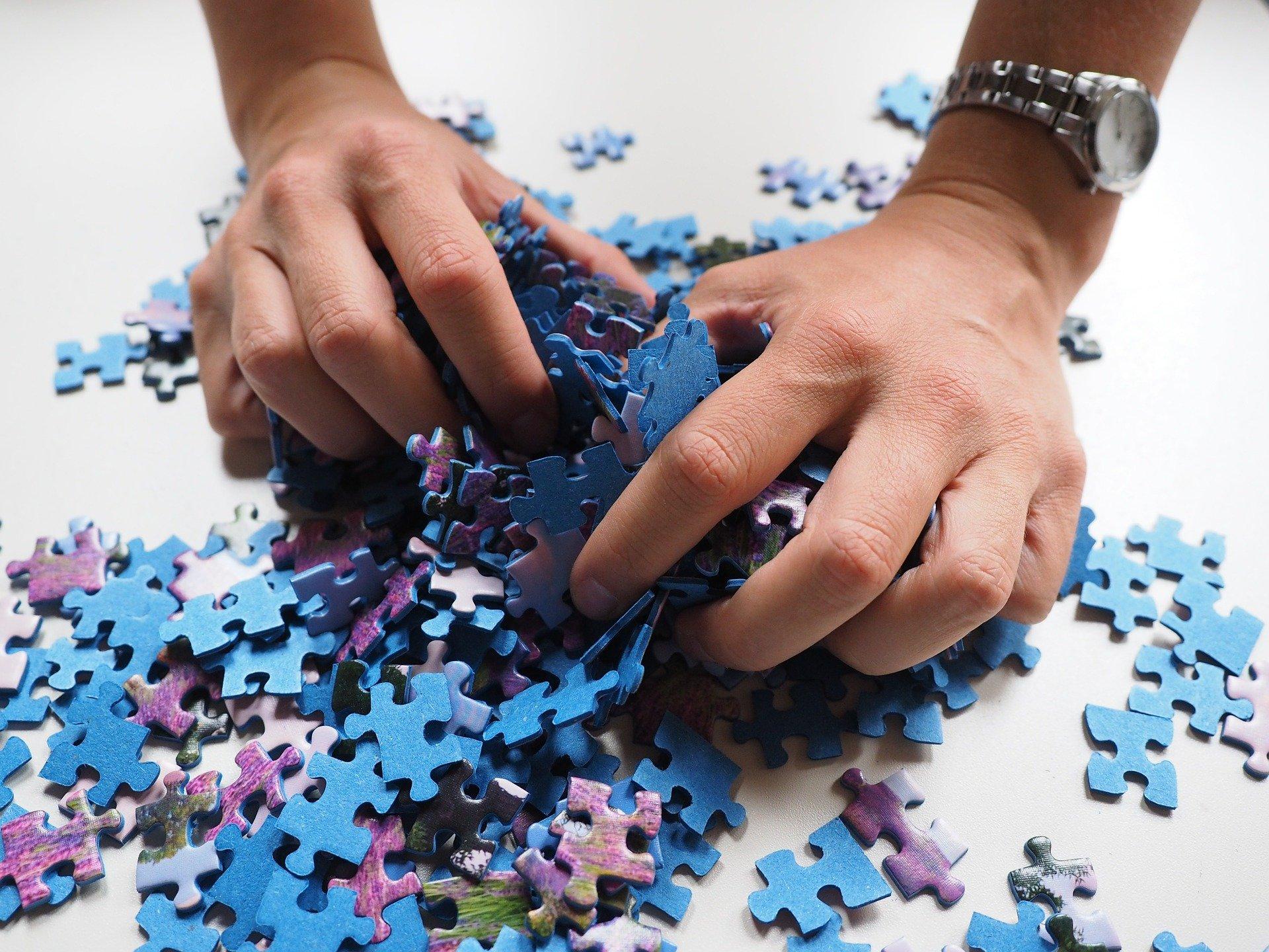 Puzzle juego de mesa