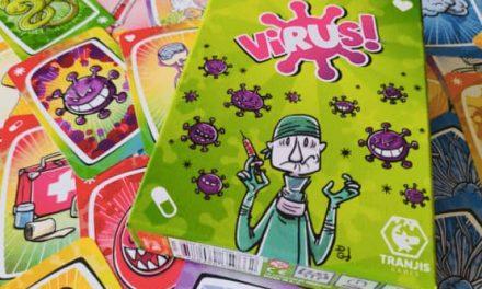 Virus el juego de cartas más actual