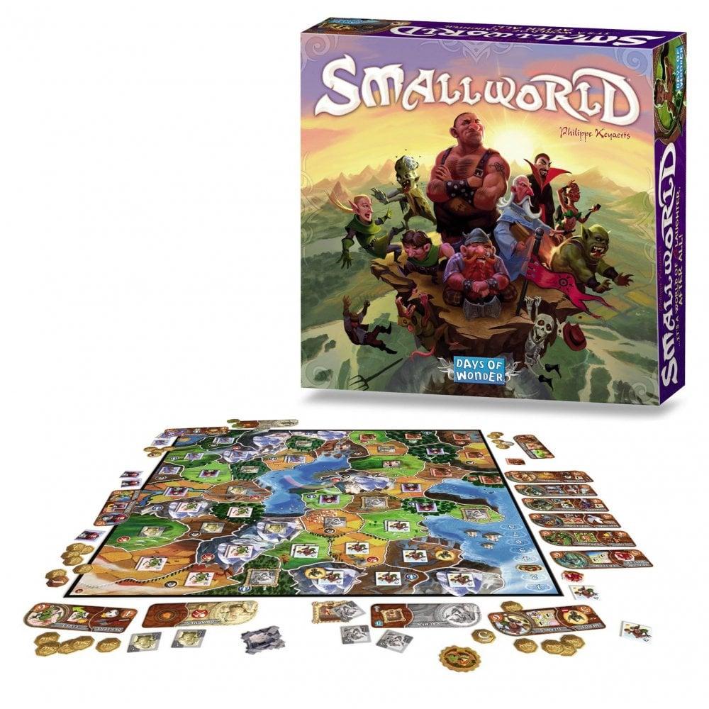 Small World juego de mesa de estrategia